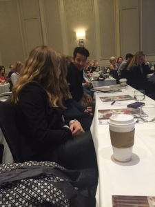 Nate Berkus sitting at my table!